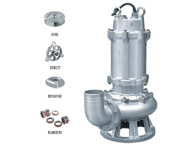 GYWQ(D)-S全不锈钢精密铸造污水物潜水电泵
